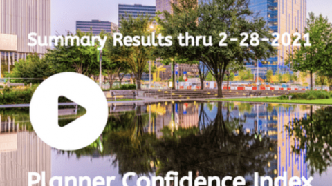 i-Meet.com – Planner Confidence Index – Online Results Thru 2-28-2021 -Video