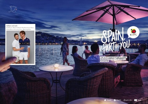 Tourism Office of Spain Promotes Gay Travel to Spain
