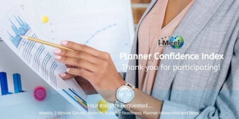 i-Meet.com Planner Confidence Index Barometer – Week 24