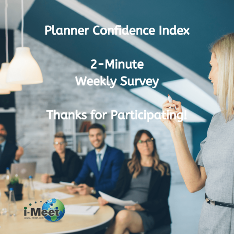 i-Meet.com Weekly Planner Confidence Survey Week 54