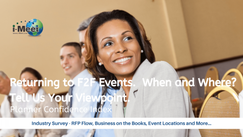 i-Meet.com Planner Confidence Index Barometer When and Where – F2F